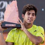 lo que ganó Garin tras coronarse en el ATP de Santiago y el registro que rompió